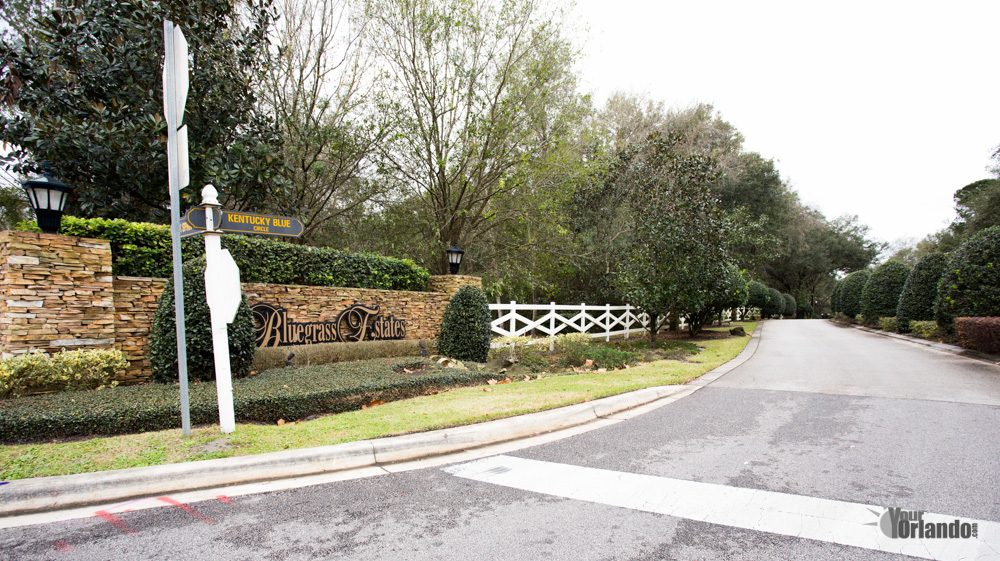Apopka Florida - Bluegrass Estates Neighborhood
