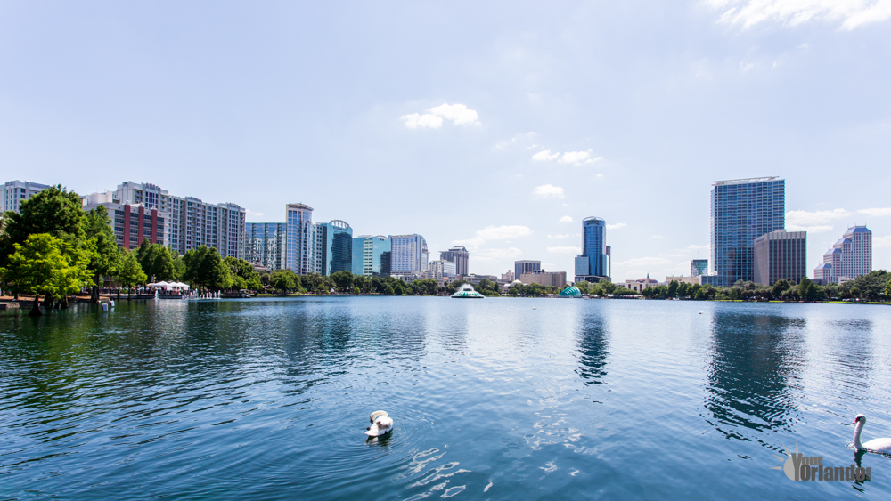 Orlando Florida Downtown - Lake Eola