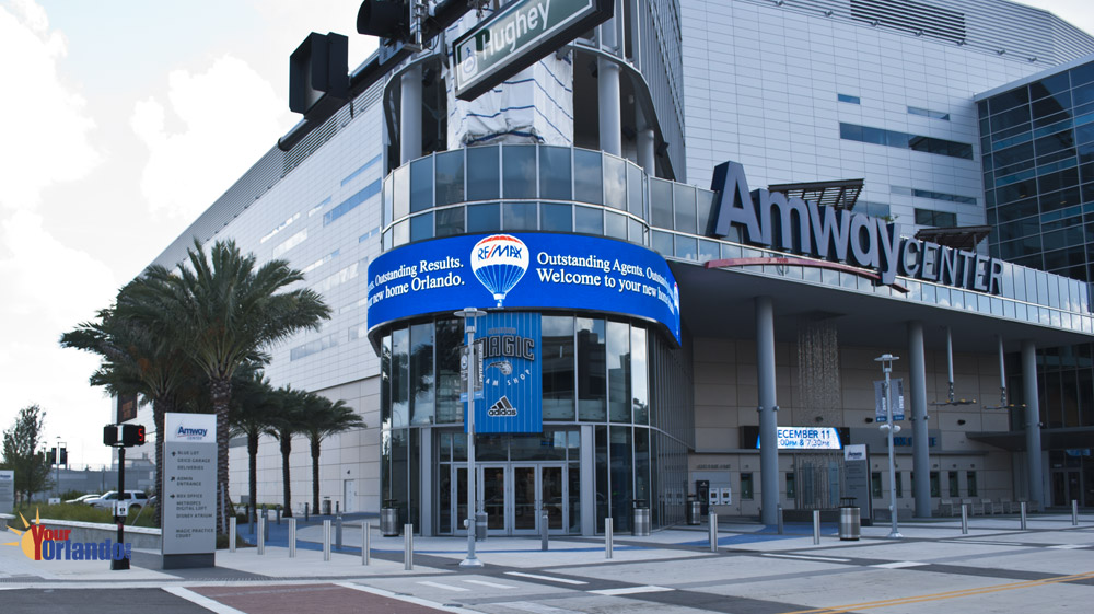 Orlando Florida Downtown - Amway Center