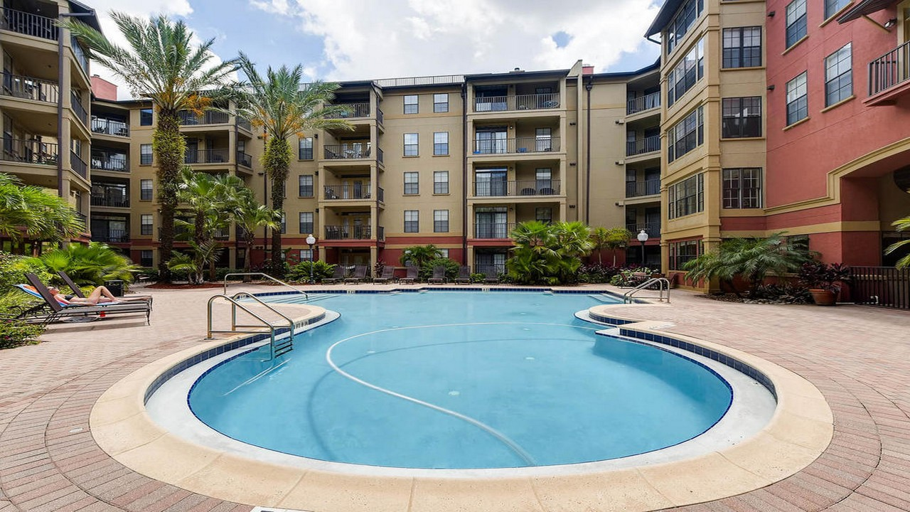 Uptown Place Condo Pool