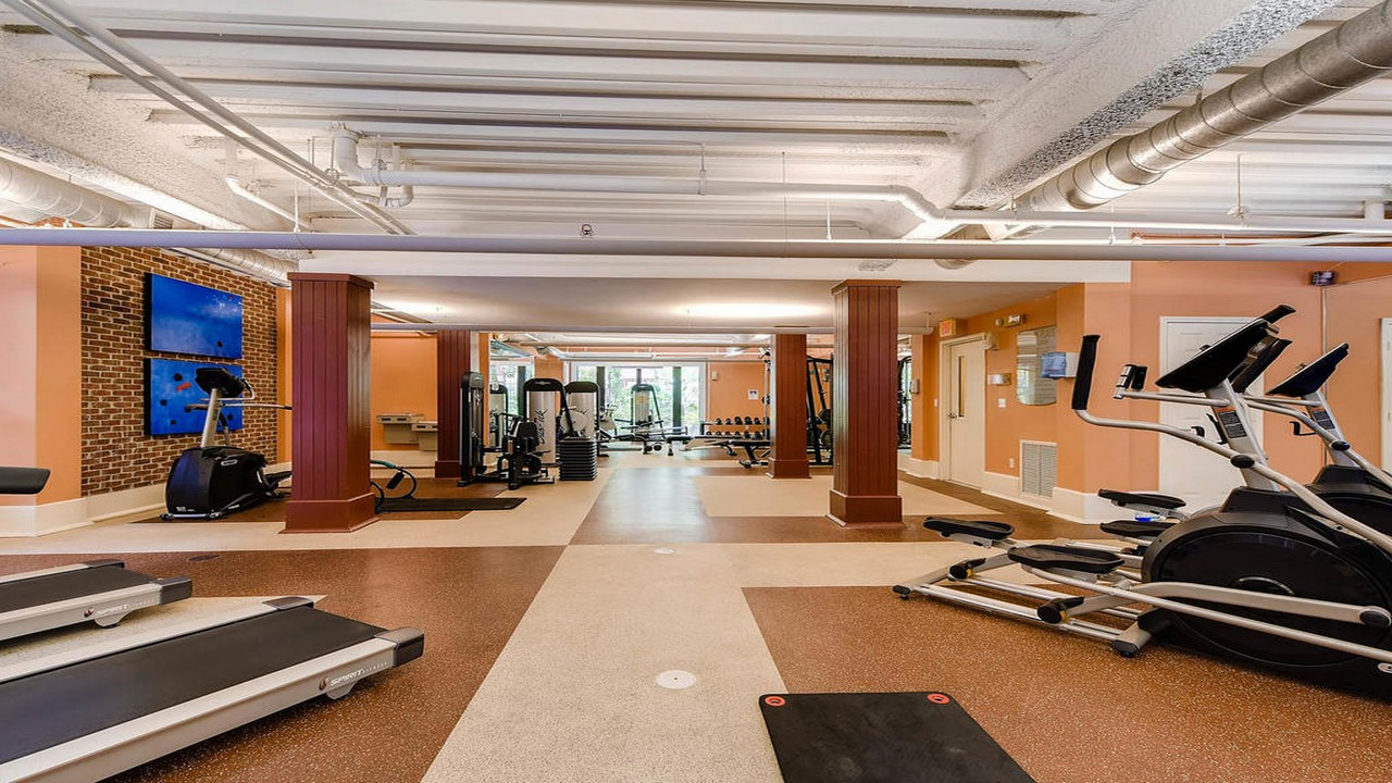 Uptown Place Condo Fitness Center