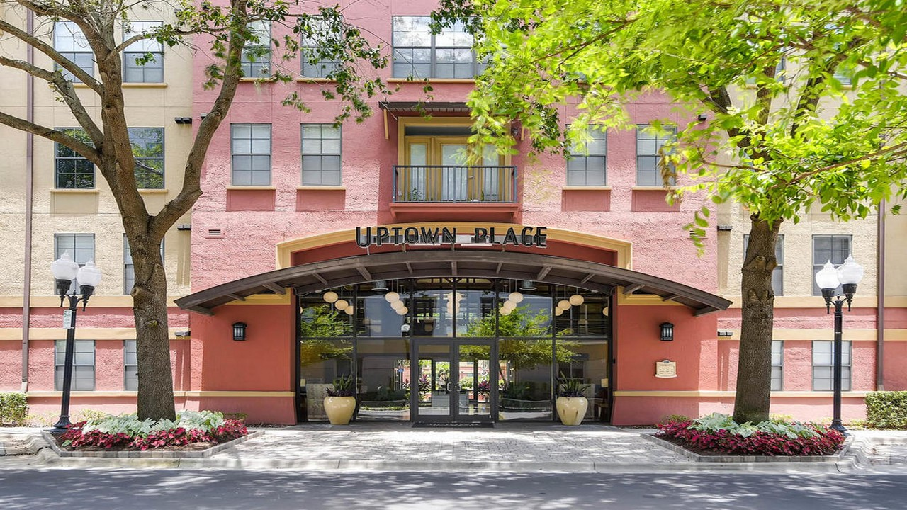 Uptown Place Condo Lobby Entrance