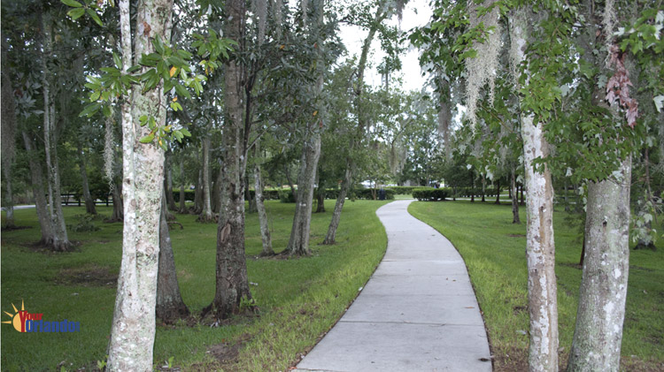 Casselberry, Florida - Walking trails at Secret Lake Park