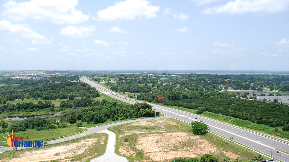 Clermont Florida - View from the Citrus Tower