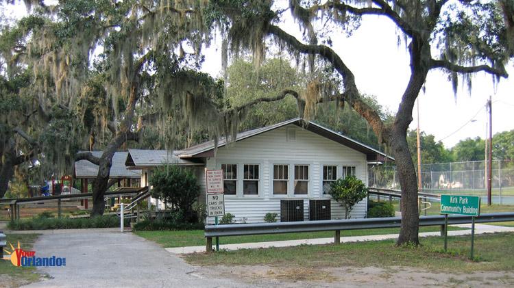 Montverde, Florida   The Kirk Park Community Building