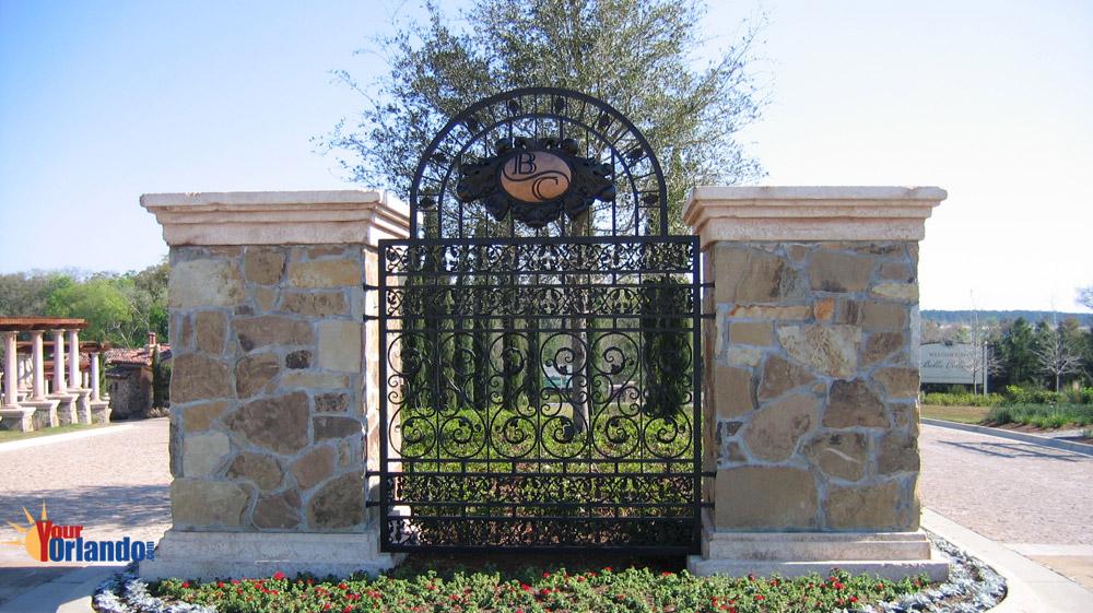 Montverde, Florida   The Bella Collina Entrance