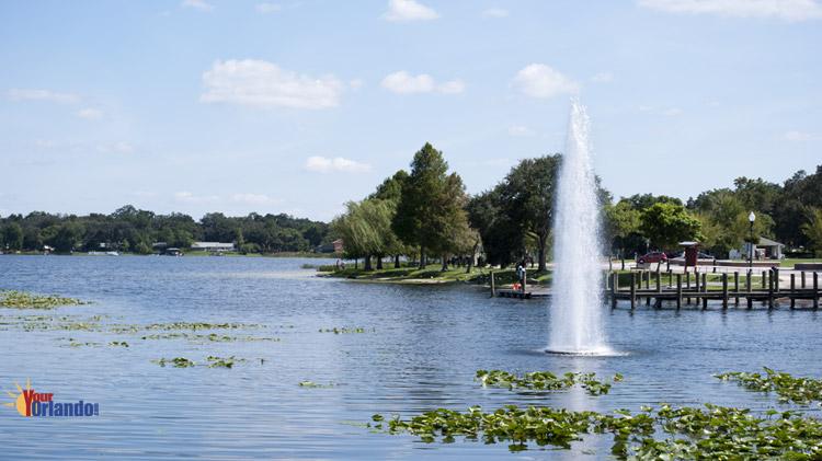 Ocoee, Florida   View of Starke Lake from Bill Breeze Park