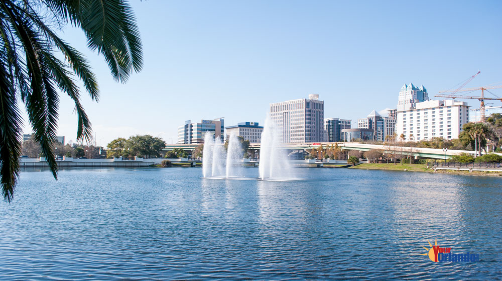 Downtown Orlando Florida | Lake Lucerne