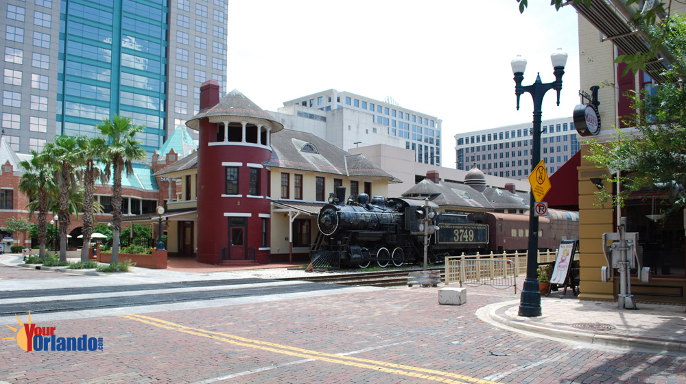 Orlando, Florida   Church Street Station in downtown Orlando