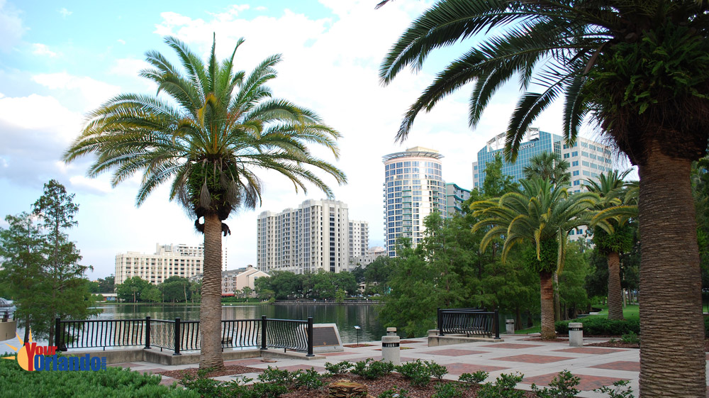 Orlando Florida | Lake Eola Park downtown Orlando