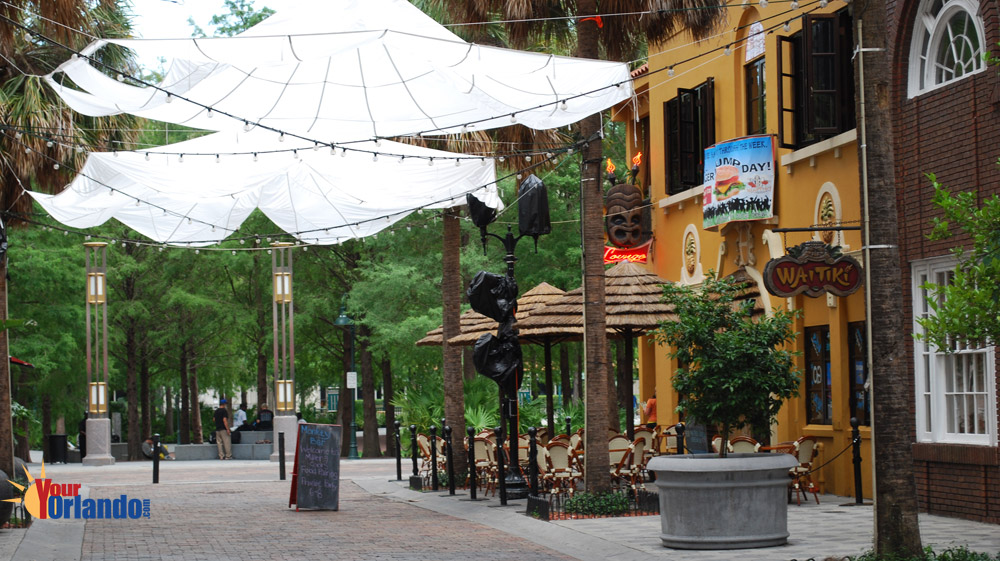 Orlando Florida | Wall Street Plaza in downtown Orlando