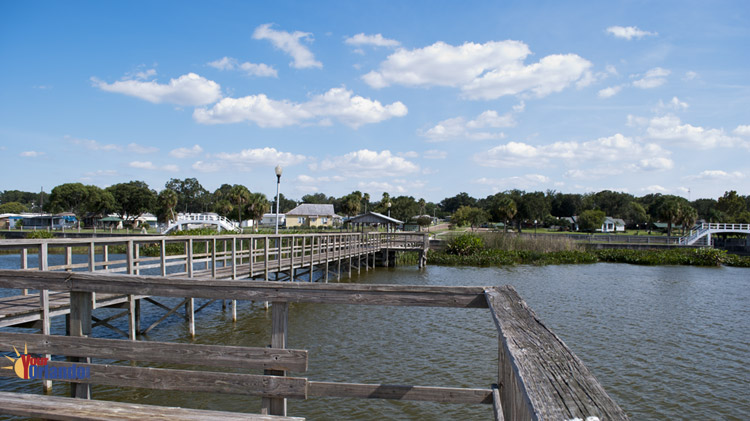 Winter Garden, Florida | The Winter Garden Pier on Lake Apopka