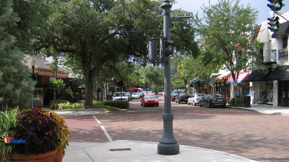 Winter Park, Florida | Park Avenue in downtown Winter Park