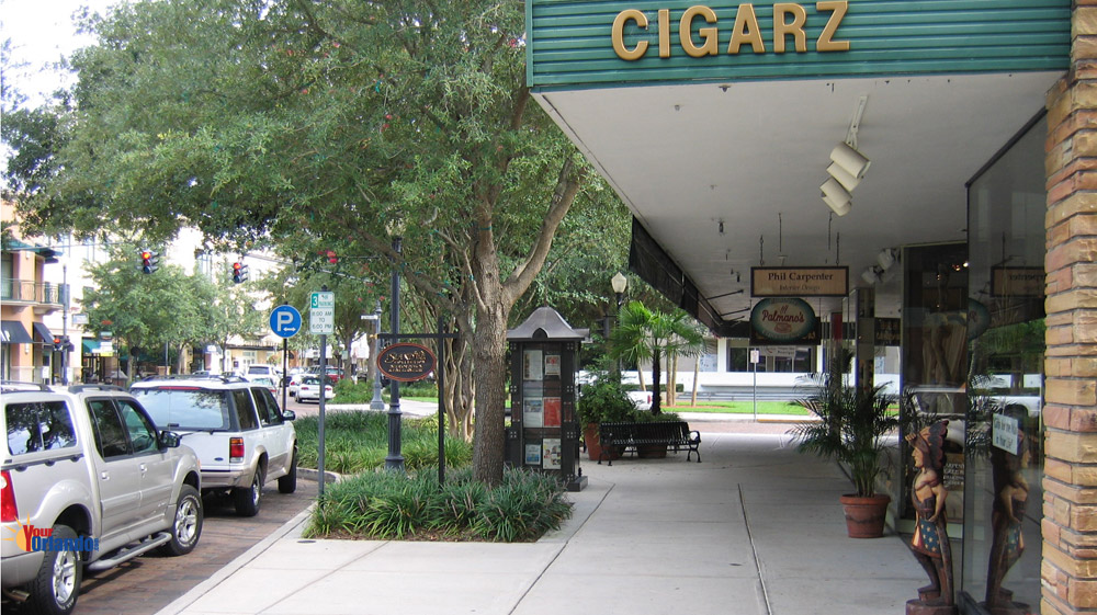 Winter Park, Florida | Shops along Park Avenue in downtown Winter Park