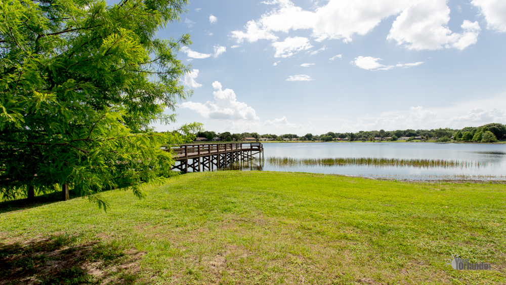 Lake Sloat, Fishing Pier - Bay Lakes at Granada - Orlando, Florida