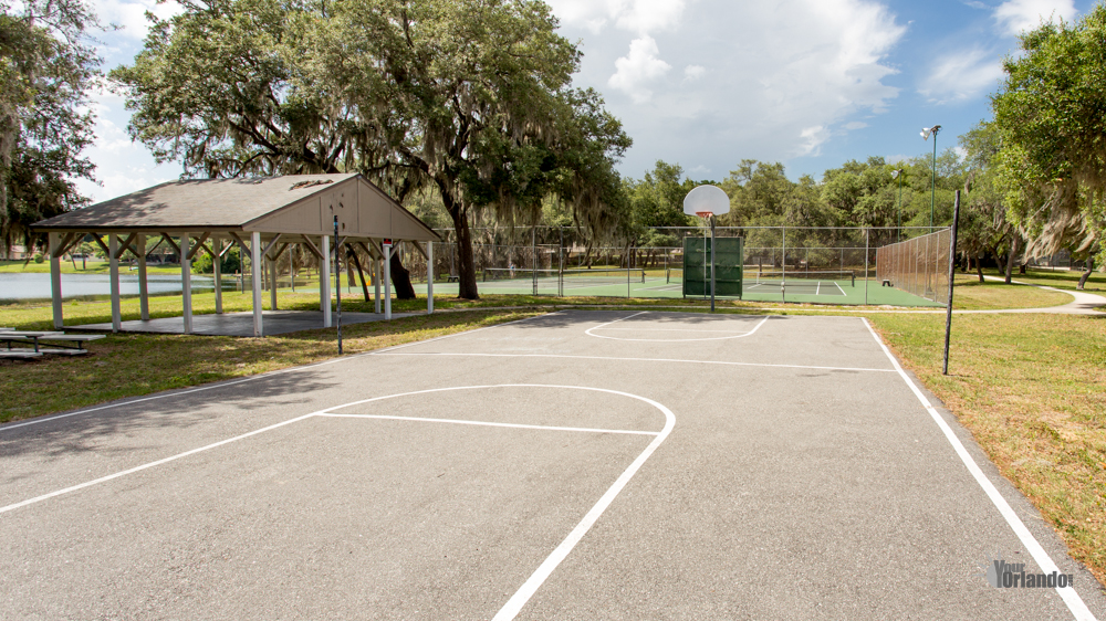 Basketball Court - Bay Lakes at Granada - Orlando, Florida