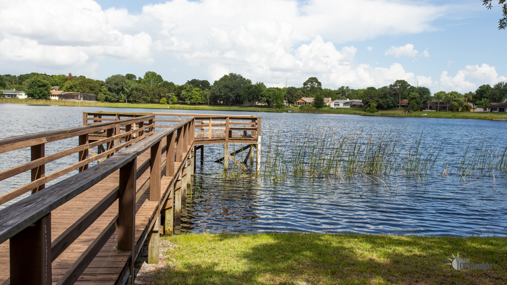 Lake Tucker, Fishing Pier - Bay Lakes at Granada - Orlando, Florida