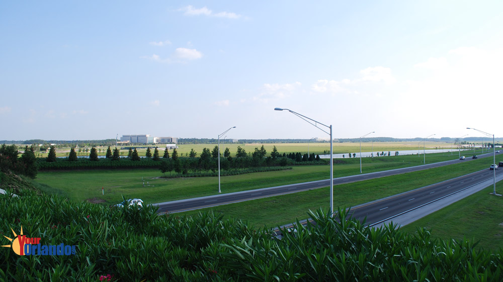 Lake Nona | Orlando, Florida | View of Medical City from Lake Nona Blvd/417 Overpass